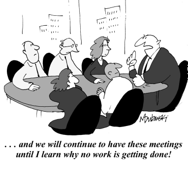 Meetings: until I learn why no work is getting done